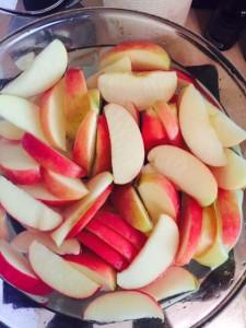 Apples Soaking in Essential Oils